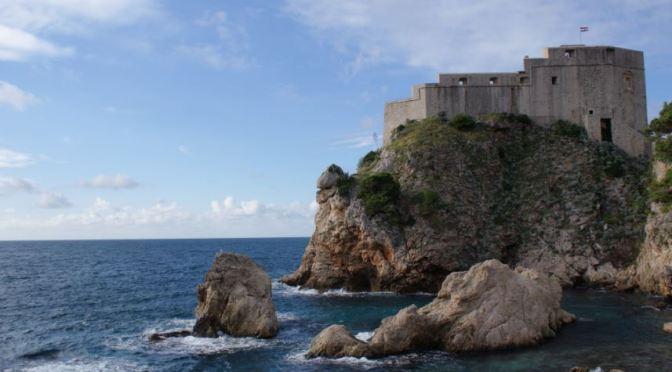 A la conquête de la ville fortifiée de Dubrovnik en Croatie