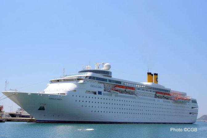 De bons souvenirs à bord du Costa Classica…