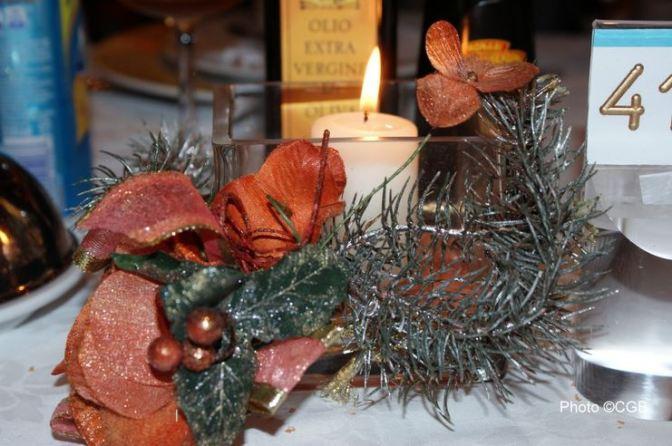 Souvenir du Menu de Noël 2012
