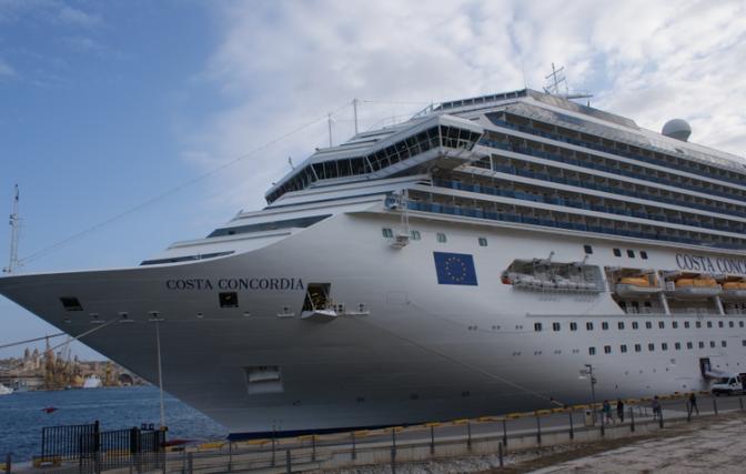 Nostalgie d'un navire somptueux, le Costa Concordia