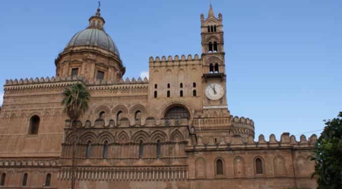 La cathédrale Monreale de Palerme en Sicile
