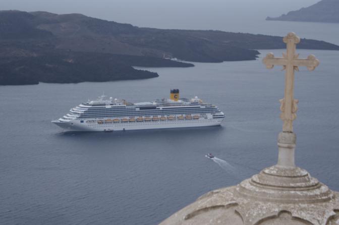 Croisière en Grèce: Escale à Oia à Santorin