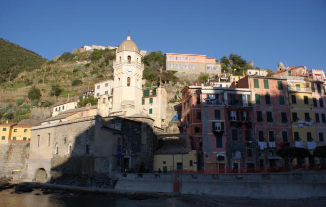 Vernazza, dans le parc national des Cinq Terres en Italie