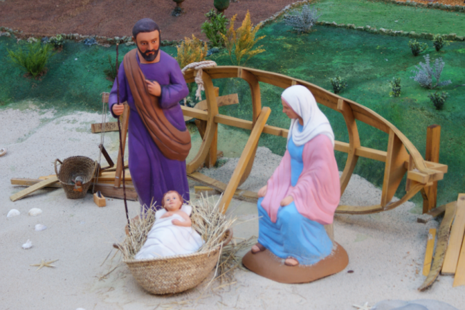 El Belén, crèche de la Nativité à Barcelone