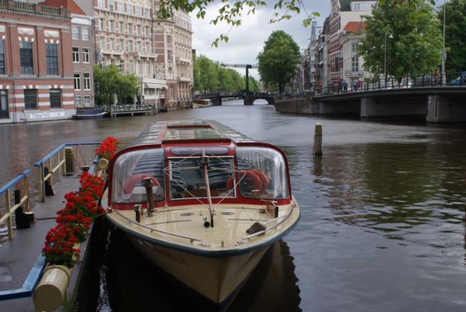 Amsterdam, la capitale du Royaume des Pays-Bas