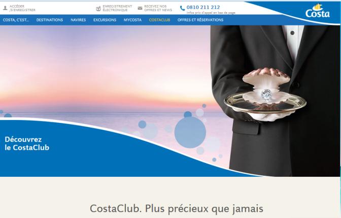 Prêts pour le programme fidélité de Costa Croisières?