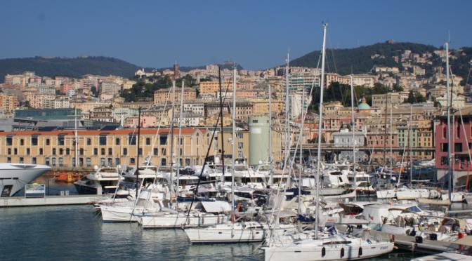 Croisière en Italie: Escale dans le port de Gênes