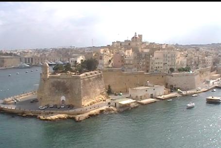 Croisière en Méditerranée: Port de la Valette à Malte