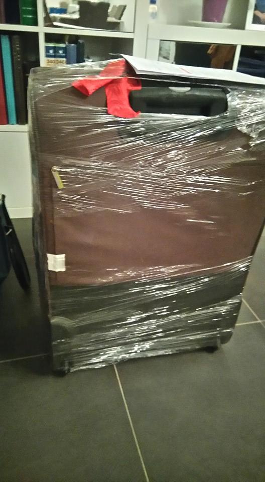 Avant la croisière: livraison de bagages en cabine