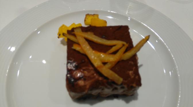 Menu de Gala sur Costa Croisières: La Cena de Bruno Barbieri