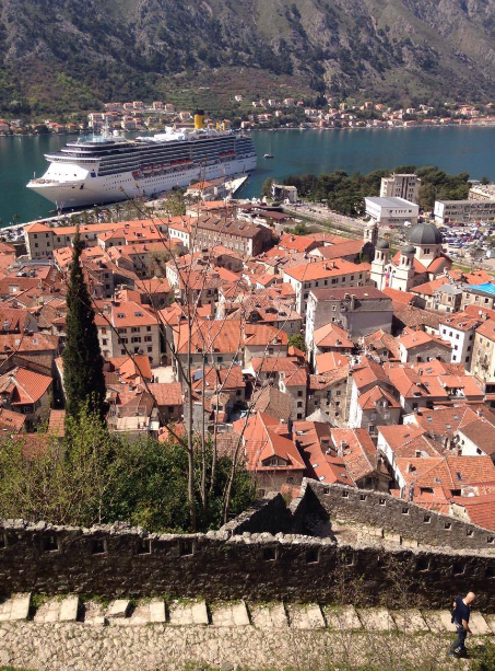 Croisière au Monténégro: Les remparts de Kotor