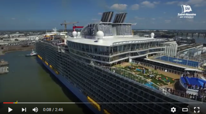 L'Harmony of the Seas, le plus gros paquebot au monde