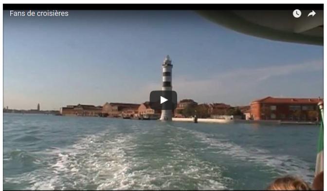Croisière en Italie: Escale à Venise dans la lagune