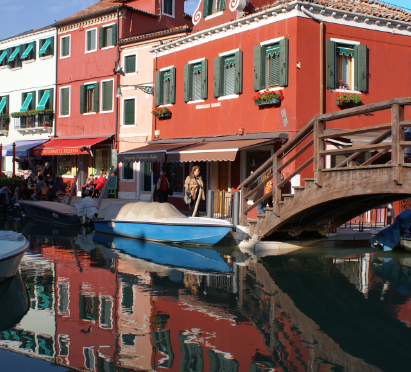 Croisière en Italie: Escale à Burano