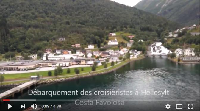 Croisière en Norvège: Navigation dans le fjord