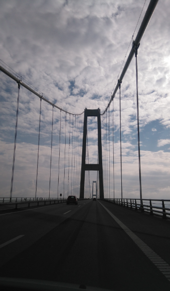 Croisière au Danemark: Pont du Grand Belt