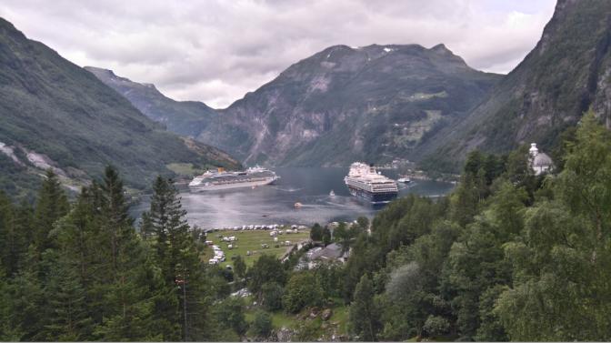 Croisière en Norvège: Escale à Geiranger