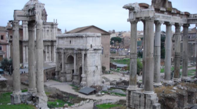 Croisière en Méditerranée: Escale à Rome