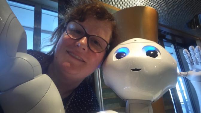 Costa Diadema: Pepper le robot humanoïde