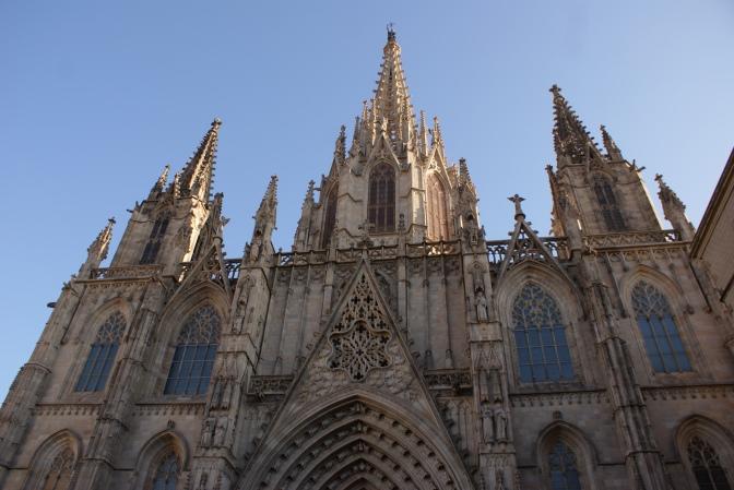 Quartier gothique à Barcelone