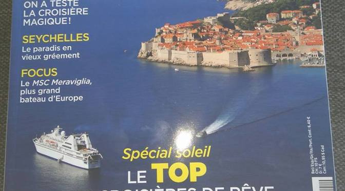 Croisières, le magazine incontournable de cet été!