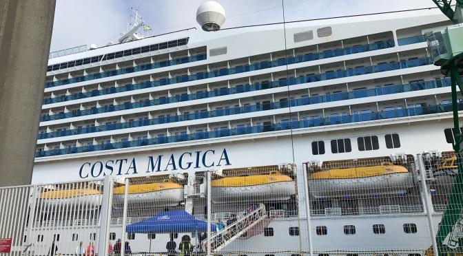 Costa Magica: Visite guidée au Havre