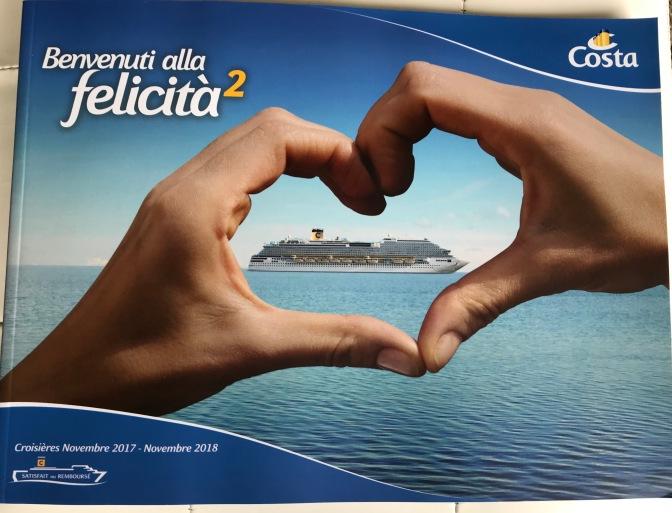 Nouvelles brochures Costa!