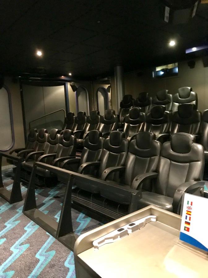 Cinéma 4D à bord des bateaux Costa