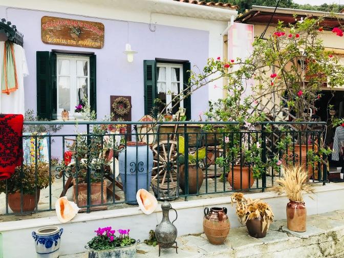 Escale à Katakolon en Grèce