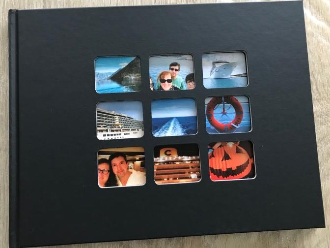 Album Souvenir de Croisière avec Photobox