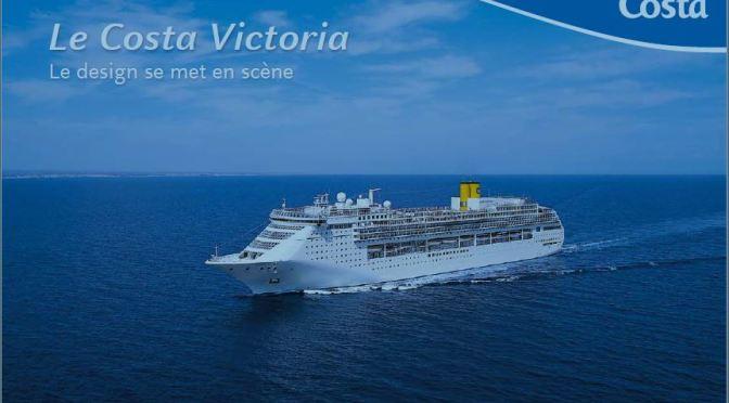 Costa Victoria, le navire du design