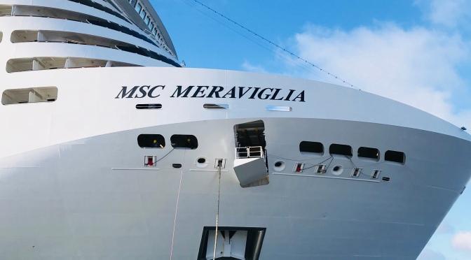 Visite guidée du MSC Meraviglia