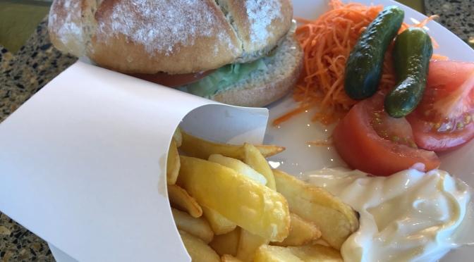 Déjeuner au buffet : le grill