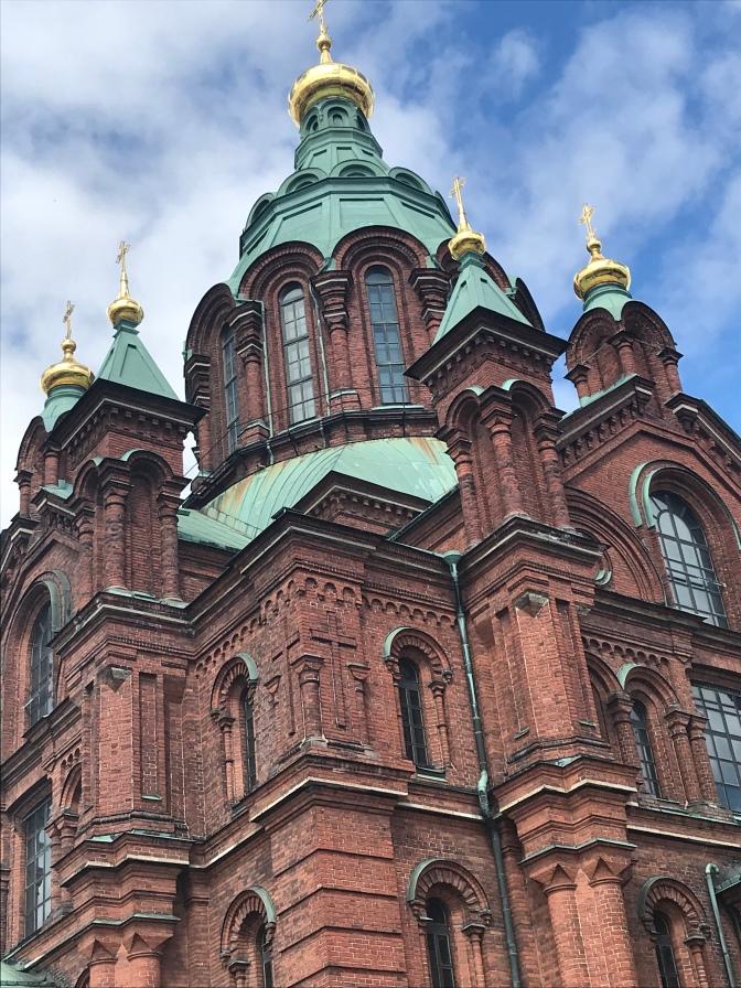 Helsinki, Escale en Mer Baltique