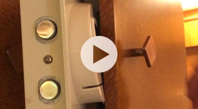 Tutoriel: Comment ouvrir le coffre de votre cabine