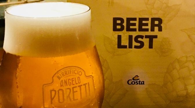 La Brasserie: boire une bière dans un lieu typique sur le Costa Diadema