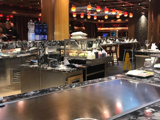 Teppanyaki, le restaurant japonais du Diadema