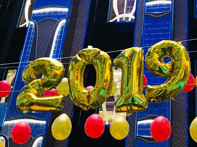 Menu du Dîner du Nouvel An sur le Diadema