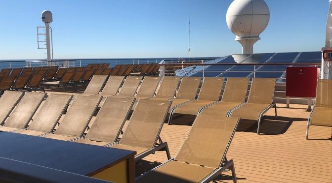 Comment être au calme sur un bateau de croisière?