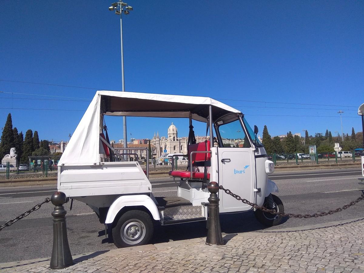 Lisbonne en Tuk Tuk