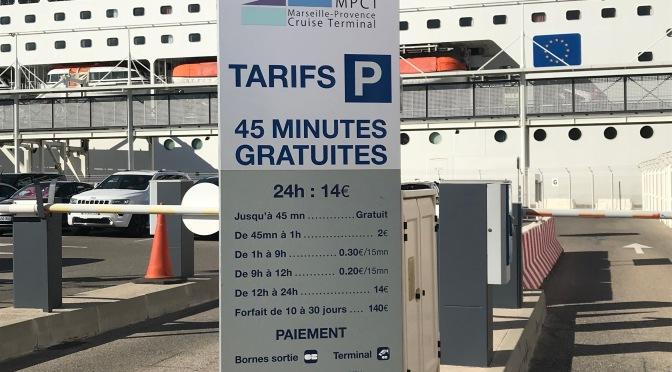 Garer sa voiture au terminal de Marseille