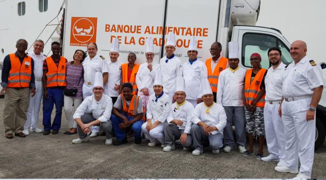 Don des surplus alimentaires en Martinique et en Guadeloupe