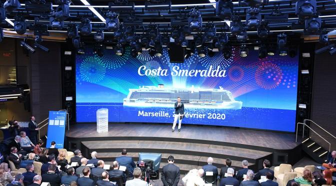 Un accord de partenariat entre Costa, le port de Marseille et le Pôle Mer Méditerranée