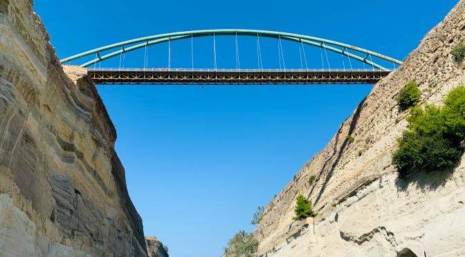 Escale au Pirée: Excursion sur le Canal de Corinthe
