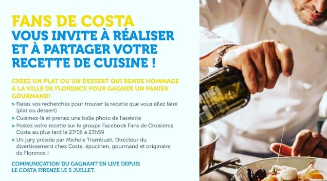 Grand concours gourmand des Fans de Costa