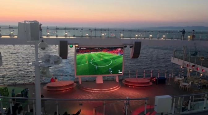 Diffusion des matchs à bord des navires Costa