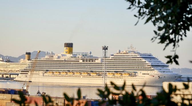 Le Costa Firenze a fait escale à Marseille pour la première fois